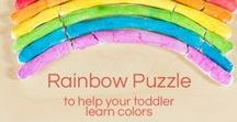 Teaching Toddlers / Resources and ideas for teaching toddlers the basics and having fun at the same time!