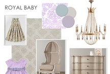 {Nursery} Inspiration at UrbanBaby / Modern pieces, found & vintage objects, natural materials.  Mix and match and create a unique nursery.  A room to grow into...