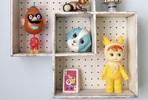 {Storage} toys & books at UrbanBaby / Store all their little treasures with style.   Lovely ideas for all the storage we need in the playroom and nursery.