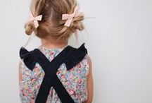 {Style} Little Girls Hair / A change from the pony and the alice band - hair styles for the mini stylista