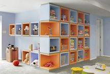 Kids' Storage Solutions / Tips, projects, and product ideas for organizing kids' closets and bedrooms.