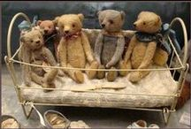 Baby don't cry / I collect vintage and antique baby rattles which inspired this board. / by Nikki hill