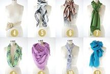 How to wear a scarf?