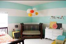 {Nursery} mint kids room @ UrbanBaby