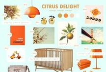 {Nursery} Orange touches for kids rooms