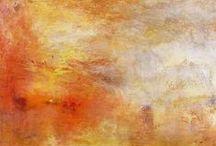 Turner, Joseph Mallord William  / Oras pictórica. Pasión en cada trazo, asombro y sobrecogimiento ante la mar enfurecida y la belleza de la naturaleza romántica. / by Enrique Rayón