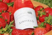 Make it a Rosè Day! / Airfield Estates Rosé made from 100% Sangiovese grape.
