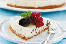 Söta pajer och cheesecakes / by Hemmets Journal