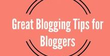 Great Blogging Tips and Tools for Bloggers / Curated blogging tips for bloggers. Marketing tips, blogging tools, social media, themes and templates, word press and much more