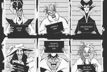 Disney Villains / by Disney Sisters