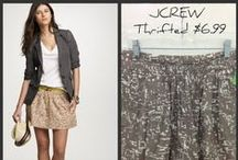 Recycle Thrift Store Clothing