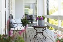 Balcony, porch and veranda