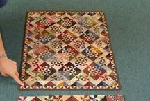 A - Small Quilts - table runners, wallhangings and mug rugs / by Diana Minor