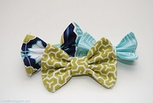 hair bows. / by Emily Irby