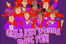 Red Hat Society / I love being a Red Batter....wonderful friends are such a treasure / by Janis Sorenson