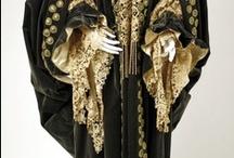 antique capes, mantles, gowns / Victorian, Edwardian, art deco