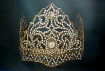 headdress /  Indonesian Ceremonial Headdresses & Crowns from Misty Albion, Etsy