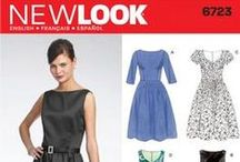 Sewing: Patterns / A mix of sewing patterns that I already have, and want to have.