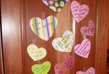 5 - Valentine - Crafts & Activities / Disney Crafts can be found under Holiday - Disney Crafts , and other Perler designs can be found under Holiday - Perler. Knit & Crochet, Felt and Sewing have their own Holiday Boards.  / by Lori Porie