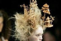 headdresses / couture