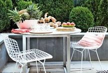 ENTERTAINING OUTDOORS / by Hiedi Rollings-Sauley