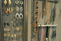 Jewelry Organization / by Katie Anne