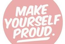 Oh So Inspired! / daily mantras that inspire us oh so much <3