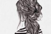 Pretty art and illustrations