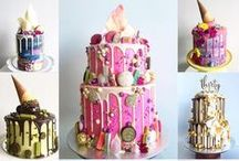 Cake Design- Inspiration / This gives me more new ideas for designing cakes