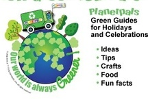 Planetpals Green Journals  / Planetpals unique and informative Green Journals-chock full of ideas, crafts, green tips, and facts for every holiday and every season for every age!