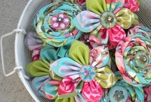 Flowers-Flowers-Flowers + Bows / This is my drive, my desire, my need to find as many ways to create flowers (and bows) for all my different craft needs. Buying store bought is fine in a pinch but I can make flowers for a fraction of what it costs in a store! Any material, any technique, even the flowers that don't look like your traditional flower - whatever it takes to create beautiful looking flowers. / by Connie Smith