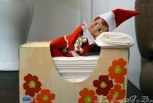 *Elf on a shelf ideas* / by Arla Wildeboer-Stuefen
