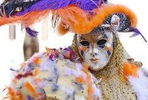 = carnival = / mardi gras - new orleans - fat tuesday - holiday - southern - celebrate - masks - purple green and gold - love / by BRitty xx!