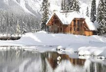 Log homes / by Angelique Duseigne