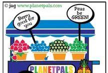 Planetpals ECO TIPS Cartoons