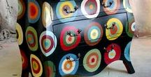 Painted Furniture / Painted furniture ideas. Art Painted Furniture.  All styles. Traditional and Modern, #Recycle and #Upcycle furniture solutions!