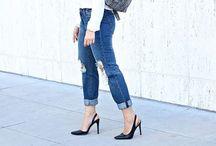 Pretty boyfriend jeans