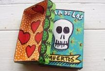 Green Day of the Dead / Dia de los Muertos, Skeletons,  Skulls, Crosses, Tombs, Day of the Dead, Crafts, Ideas, Recycle Crafts, Upcycle Crafts, Party Ideas and Decorations, Food Fun