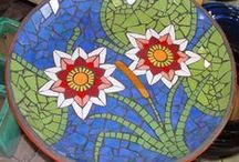 Mosaics / Recycle upcycle pottery, dishes, more.  Make mosaics with or on reusable items.