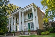 Riverwood Mansion / Here is the location for the welcome brunch of the Ultimate Southern Bachelorette Weekend! Riverwood Mansion is located in the historic East Nashville since the late 1790's.