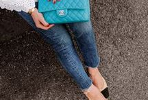 Chanel handbags / All pictures are from outfits posts that you can find on my blog.