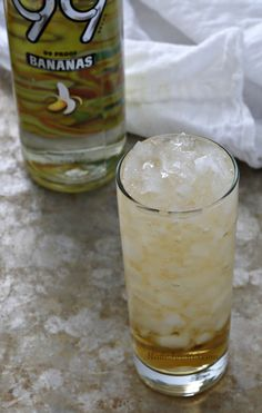Banana Cream Pie Cocktail {Banana Liqueur & Cream Soda}