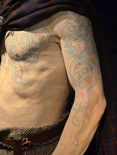 Inked imagery on pinterest tattoo ink viking tattoos for Saxon warrior tattoos