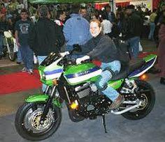 single biker girl