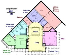 Earth contact homes underground earth sheltered house for Earth contact homes floor plans