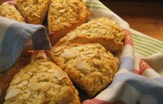 Almond Buttermilk Scones from Wine and a Spoon -- perfect for a breakfast backyard picnic on Earth Day. #picnic12