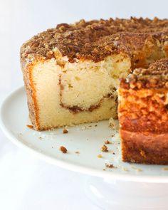*Sour Cream Pecan Coffee Cake