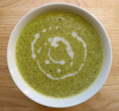Creamy Curried Broccoli Soup