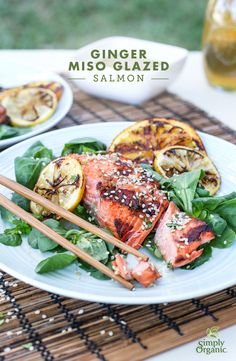 ... miso, ginger, garlic and sesame. Try the recipe tonight. | via Simply
