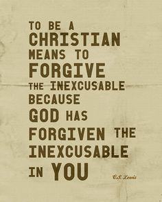 Forgive The Inexcusable